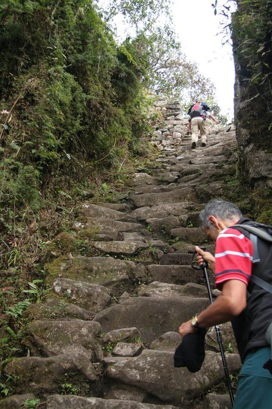 On the (hard) way to ... amarello... machu pichu