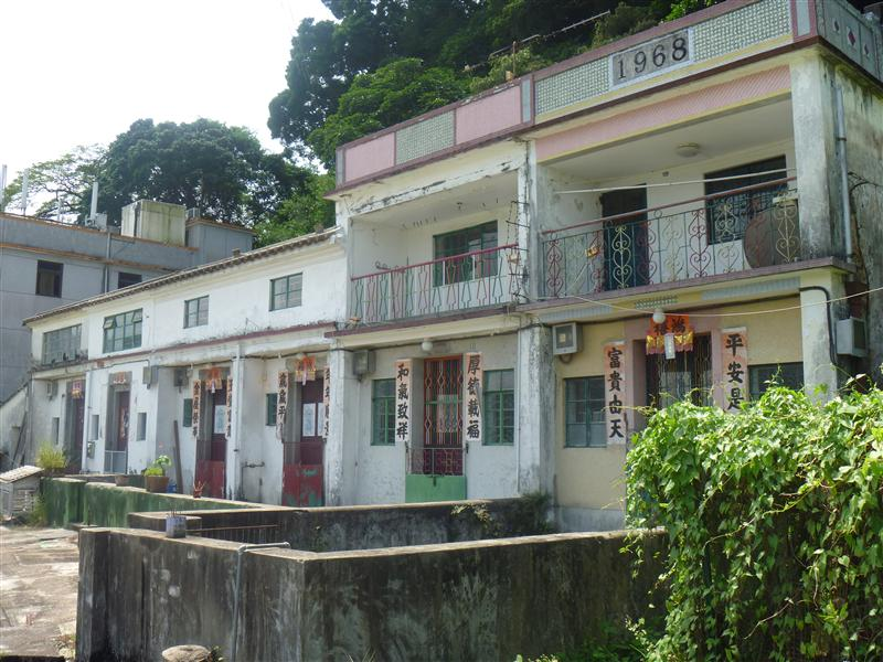 Luk Keng Village houses