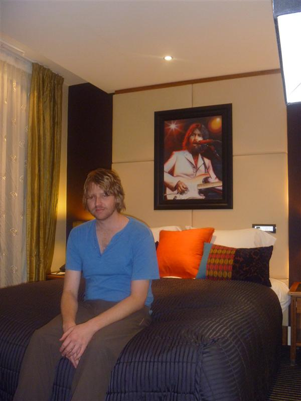 Our George Harrison room