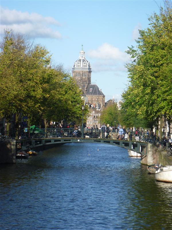 one of the many canals