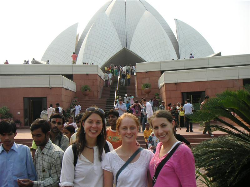 Lotus Temple, Delhi. a.k.a Sydney Opera House