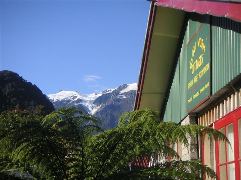 Where we stayed in Franz Josef