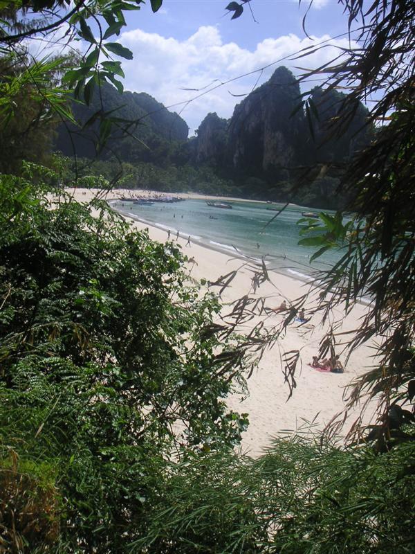Rai Leh West Beach