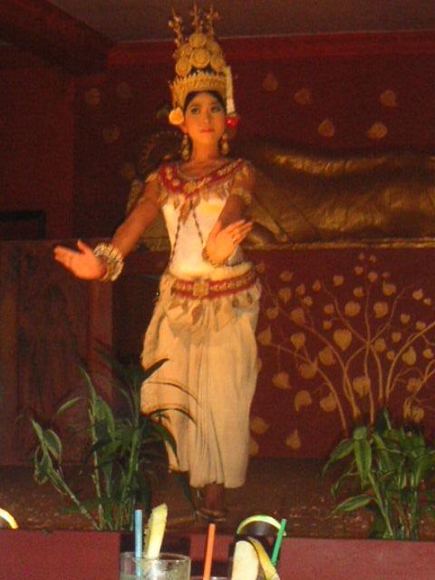 Traditional Cambodian dancing