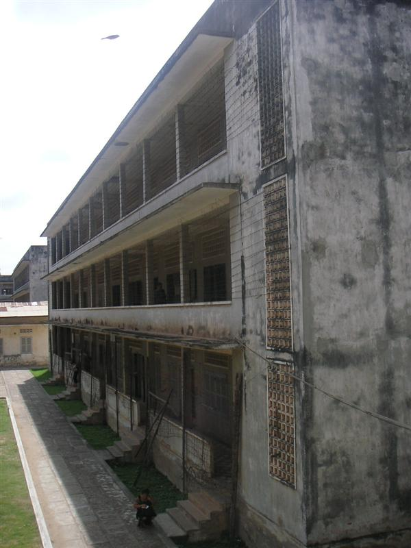 The Tuol Sleng Museum (S-21 Prison)