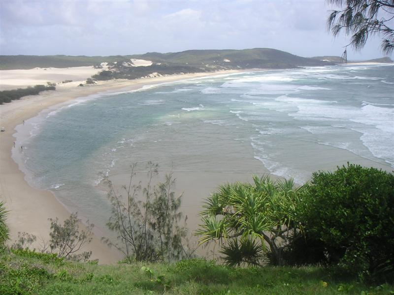 View from India Heads, Fraser Island