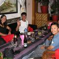 Meal with the Nepali guys we met at the Annapurna Base Camp