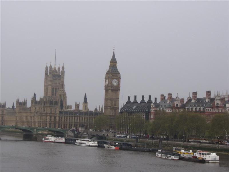 Clock Tower and the Parliament