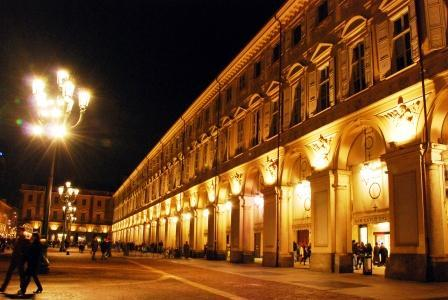 Torino at night