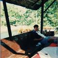 Joey in Pagsanjan resort hut