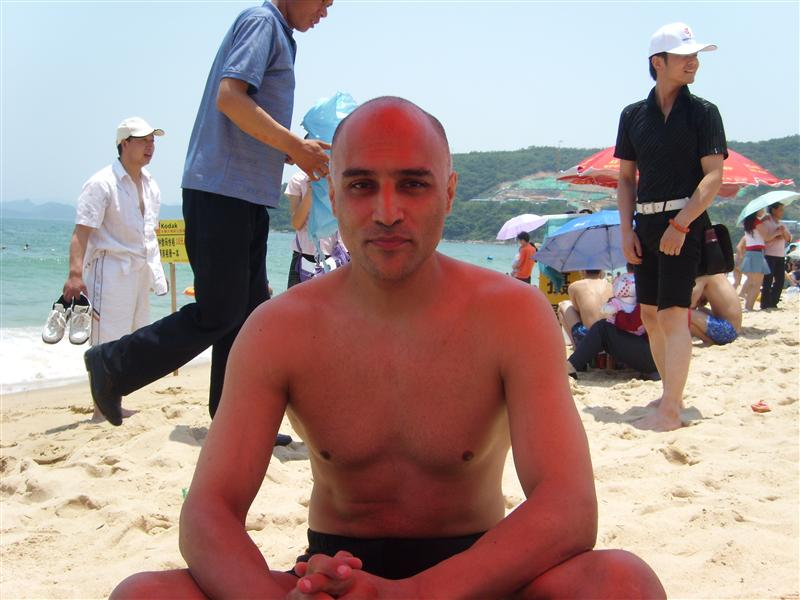 Me On the Beaches of ShenZhen