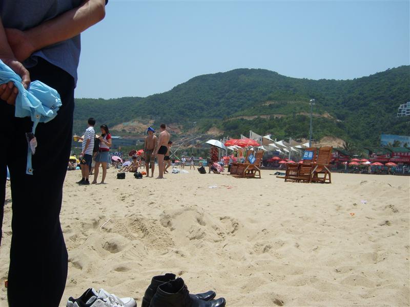 Beach Da Mei Sha of ShenZhen