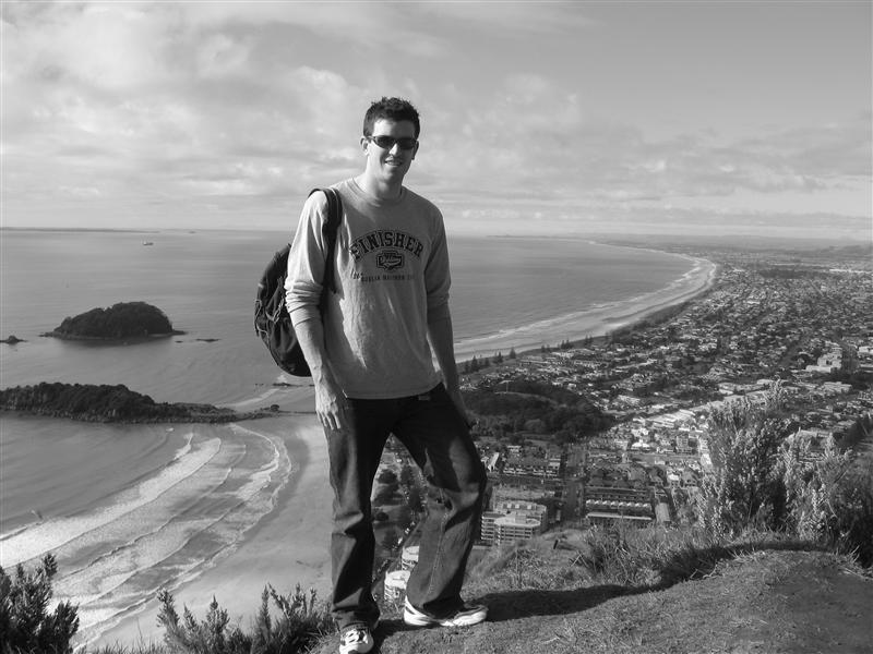 Me on top of Mount Maunganui