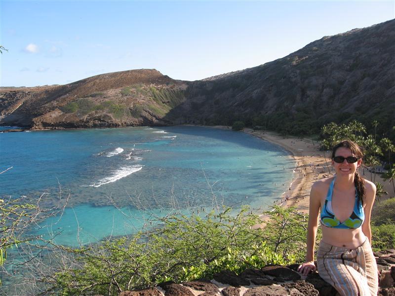 Hanauma Bay - lots of coral and tropical fish