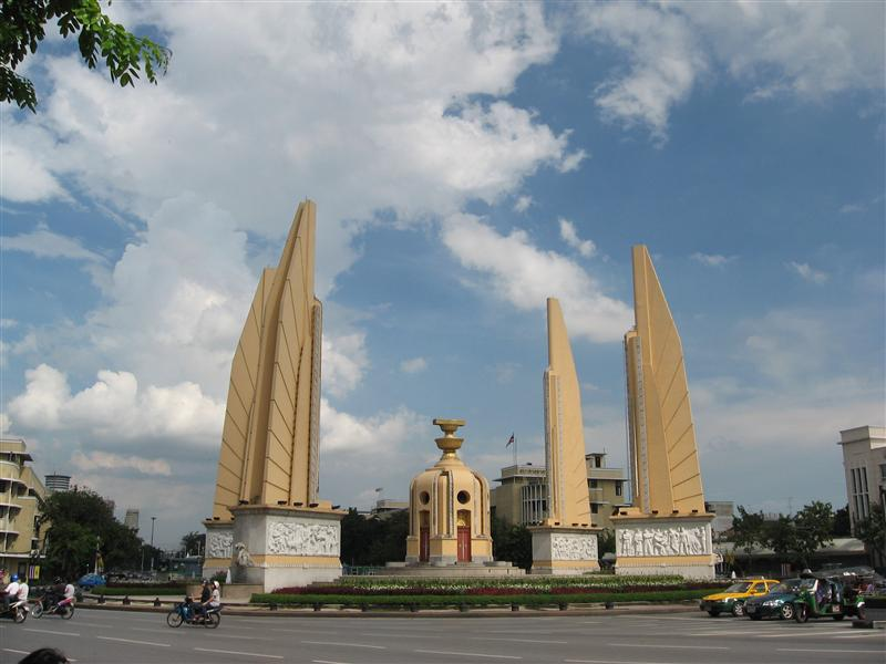'Monument to Democracy'`