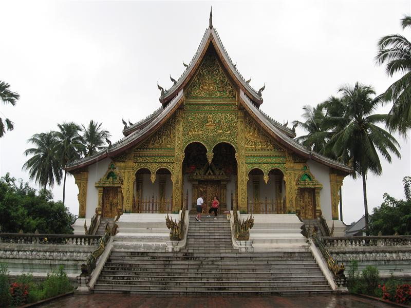 The temple by the old Royal Palace again