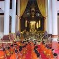 Monks having a chant