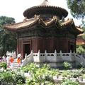 A temple in the gardens of the Forbidden City