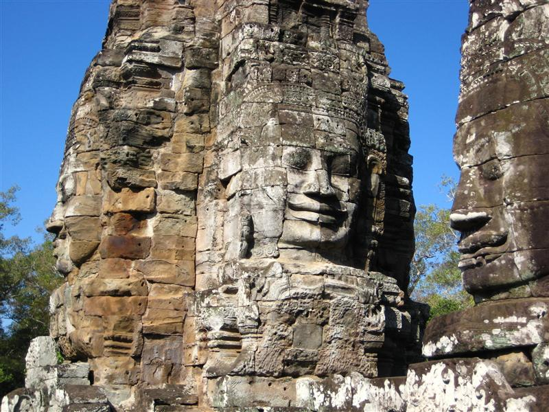 angkor faces