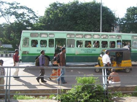 typischer non-A/C Bus