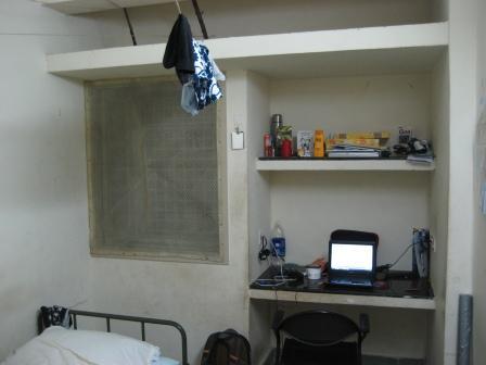 mein Schreibtisch und Fenster