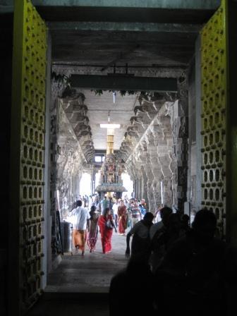 Ekambareshvara-Tempel, sehr imposante Tore