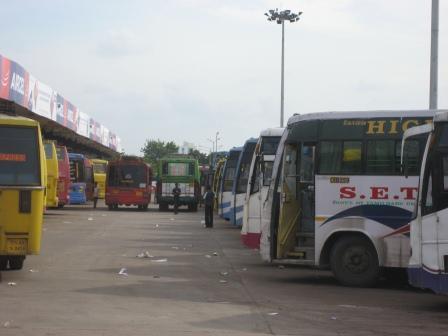 C.M.B.T. - Zentraler Busbahnhof in alle Richtungen des Landes