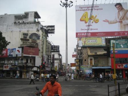 ... und der indische Teil der Stadt