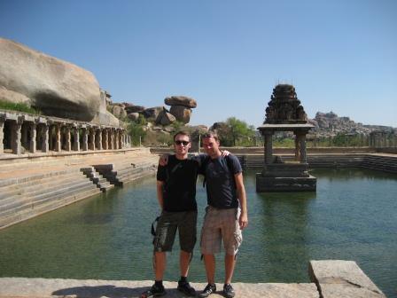 Hampis alte Tempelanlagen