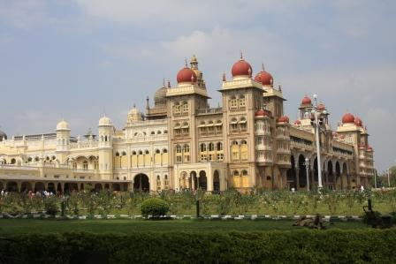Mysore Palace der alte Maharadscha Palast
