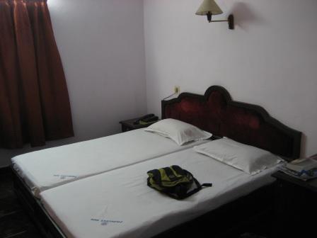 Mal ein echt schickes Hotel. So was erlebt man selten in Indien.