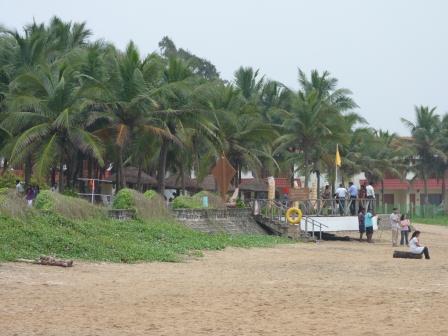 Der Strand von Mamalla - traumhaft entspannend