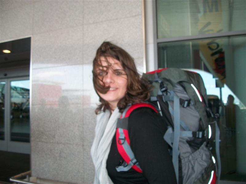 Me and my beloved backpack