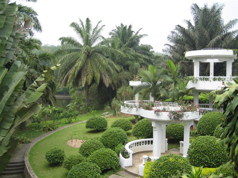 Botanics gardens - odd architecture