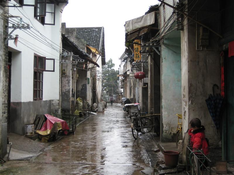 a very chinese looking street