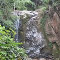 The waterfall at the endof our trek