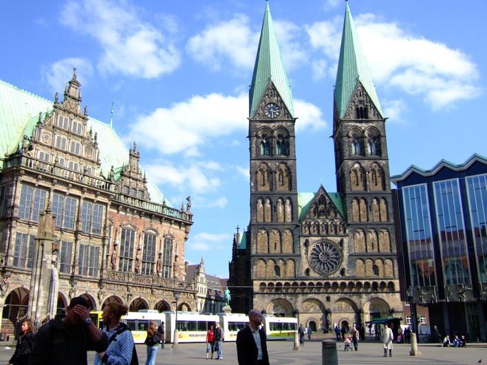 market square in Bremen (Marktplatz)
