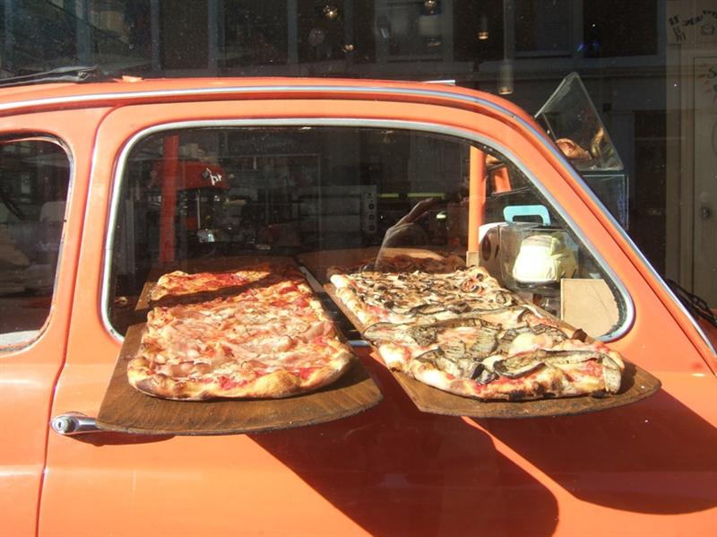 Yummy Looking Pizzas