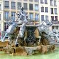 Fontaine Bartholdi at Place des Terreaux by Fre´de´ric Bartholdi (Statue of Liberty)