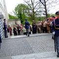 changing of guards at Prague Castle