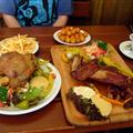 our last meal in Plzen - pork knuckle & ribs! yum!!!!!