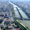 La Seine from top of Effiel Tower