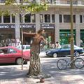 Ramblas street performer