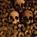 Creepy Skulls in the Catacombs