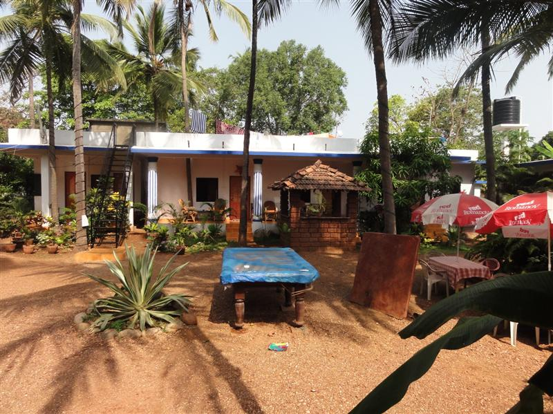 Our humble abode in Anjuna