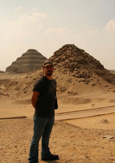 James at Djoser Pyramid