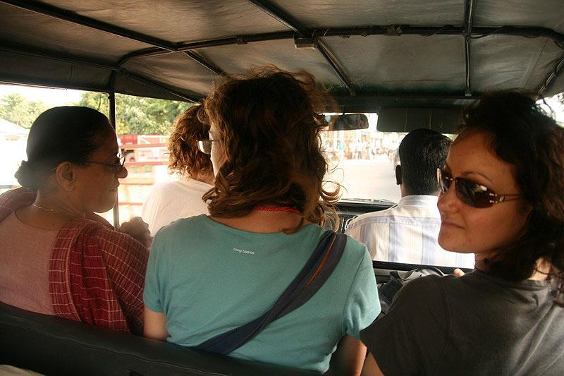 Catching a ride to Pondi