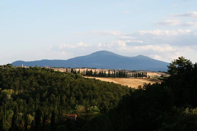 View across the valley from Trove