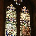 Stained glass windows in our hostle