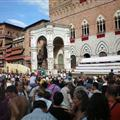 The Campo in Sienna right before the race started